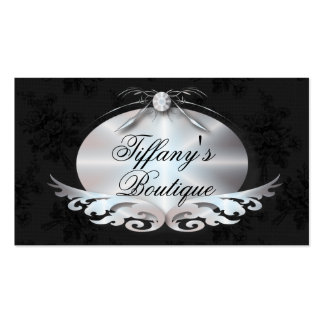 Elegant Victorian Fashion Business Card Template
