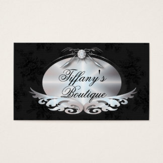 Elegant Victorian Fashion Business Card Template