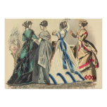 Elegant Victorian Fashions Posters