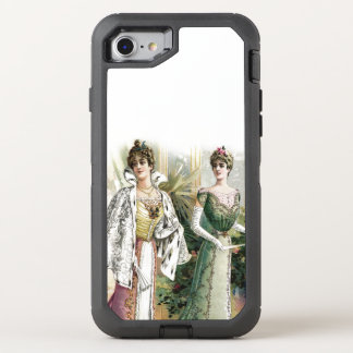 Elegant Victorian Ladies OtterBox Defender iPhone 8/7 Case