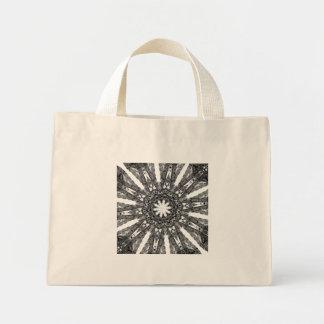 Elegant Victorian Parasol Kaleidoscope Small Tote Bag
