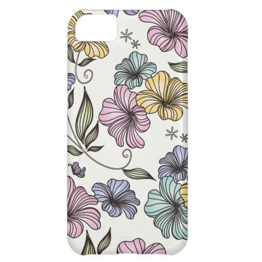 Elegant Victorian Vintage Flowers iPhone 5C Cover