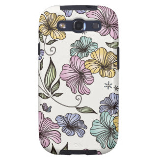 Elegant Victorian Vintage Flowers Samsung Galaxy S3 Cases