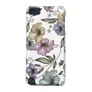 Elegant Victorian Vintage Flowers iPod Touch (5th Generation) Covers