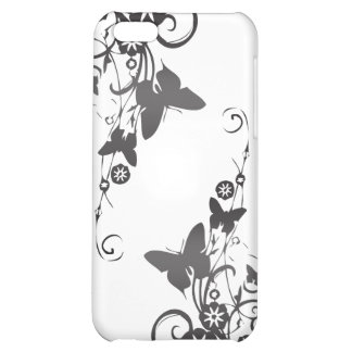 Elegant Vines and Butterflies iPhone 5C Covers
