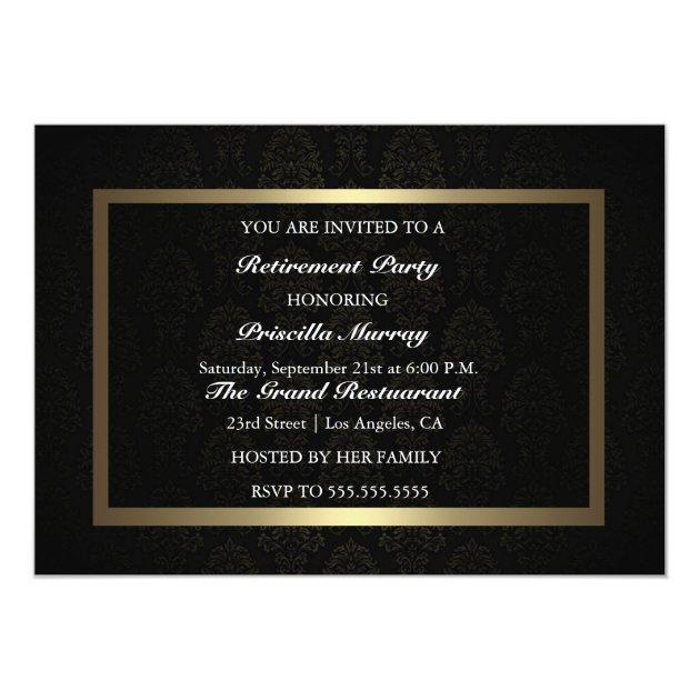 Invitation For Retirement was adorable invitation sample