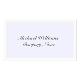 ELEGANT VINTAGE BLUE CLEARLY CLASSIC SIMPLE ROSA PACK OF STANDARD BUSINESS CARDS