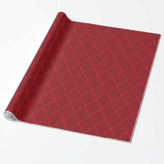 Elegant vintage christmas moroccan wrapping paper