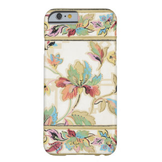 Elegant Vintage Floral Barely There iPhone 6 Case