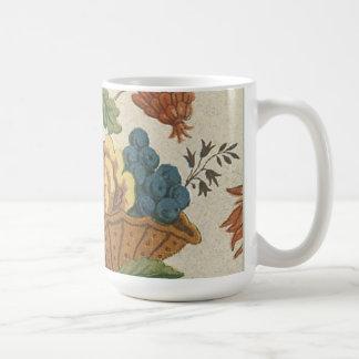 Elegant Vintage Floral Fabric (7) Mug