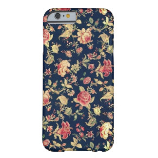 Elegant Vintage Floral Rose iPhone Case