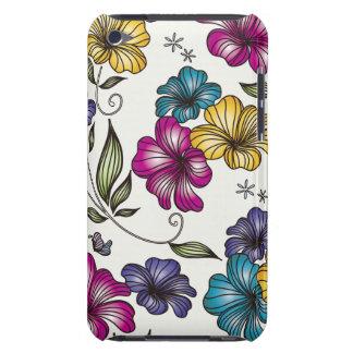 Elegant Vintage Flowers iPod Case-Mate Case