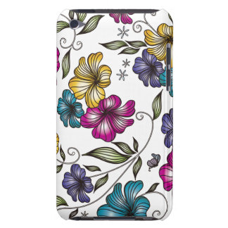Elegant Vintage Flowers iPod Touch Covers