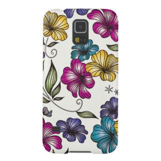 Elegant Vintage Flowers Galaxy S5 Case
