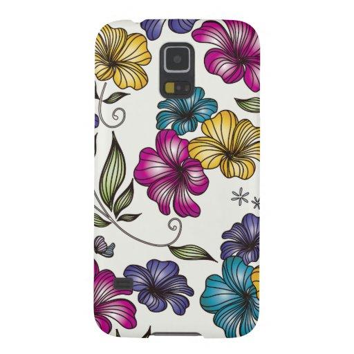 Elegant Vintage Flowers Galaxy Nexus Covers
