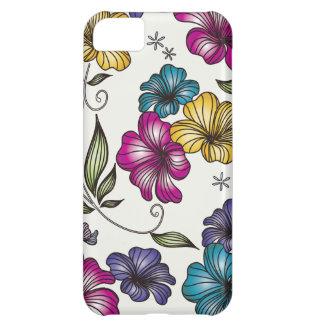 Elegant Vintage Flowers iPhone 5C Cases