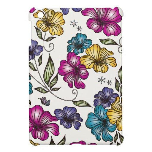 Elegant Vintage Flowers Case For The iPad Mini