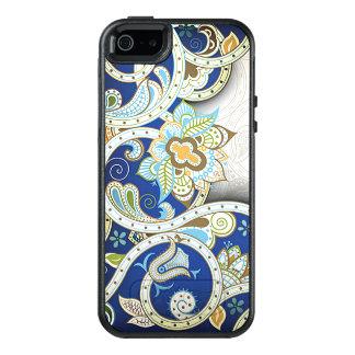 Elegant Vintage Nouveau Deco Floral Pattern OtterBox iPhone 5/5s/SE Case