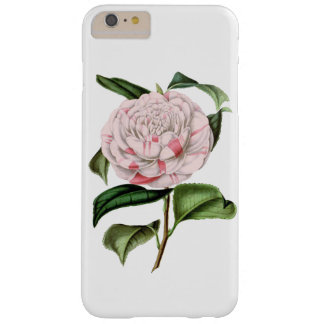 ELEGANT VINTAGE PINK FLORAL BARELY THERE iPhone 6 PLUS CASE
