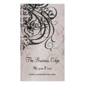 Elegant Vintage Rococo Champagne Business Card