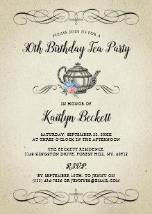 Elegant Vintage Tea Party