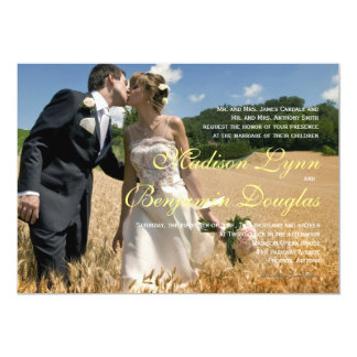 Elegant Vintage - Wedding Photo Invitations