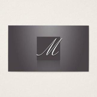 Elegant Violet Business Card