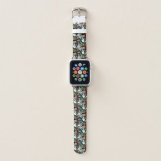 Elegant Violin Scroll Apple Watch Band