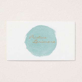 ★ Elegant Watercolour Business Card