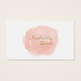 ★ Elegant Watercolour Business Card