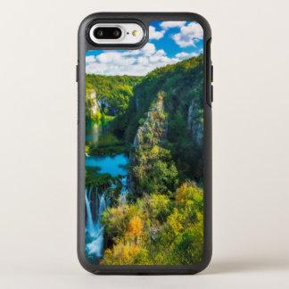 Elegant waterfall scenic, Croatia OtterBox Symmetry iPhone 7 Plus Case