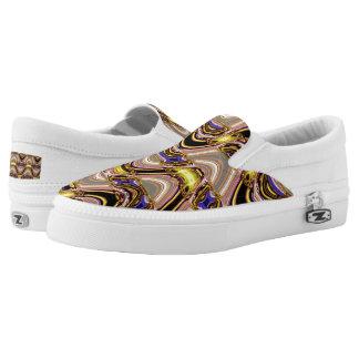 Elegant weave  pattern Slip On-Shoes US-Women Slip On Shoes