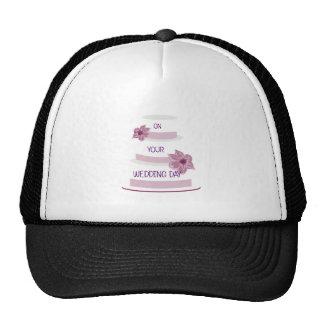 Elegant Wedding Cake Cap
