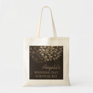 Elegant Wedding Day Survival Kit Bag