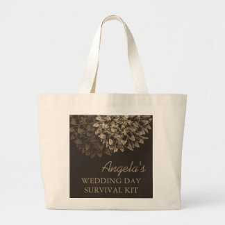 Elegant Wedding Day Survival Kit Bag