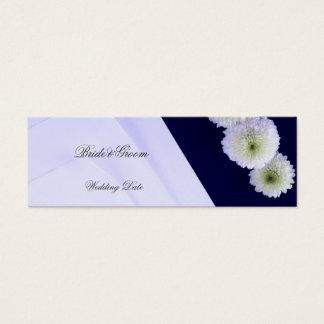 Elegant Wedding Favor Tag 2 Mini Business Card