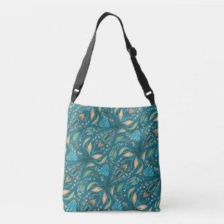 Elegant wedding floral rustic beautiful pattern crossbody bag