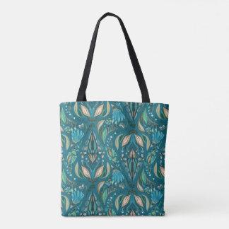Elegant wedding floral rustic beautiful pattern tote bag