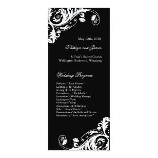 Elegant  Wedding Programs Custom Invite
