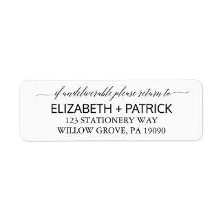First Communion Shipping Address Return Address Labels
