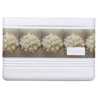 Elegant White Bridal Bouquet Cooler