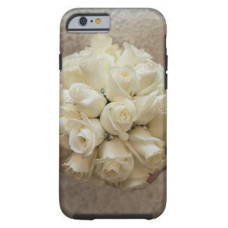 Elegant White Bridal Bouquet Tough iPhone 6 Case