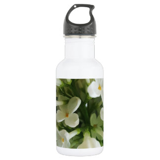 Elegant white lilac blossom photo 532 ml water bottle