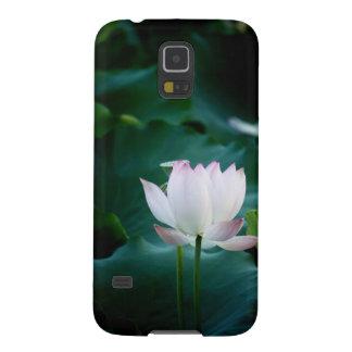 Elegant white Lotus Flower Galaxy S5 Case