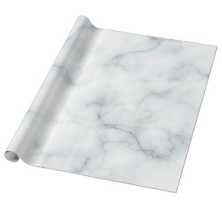 elegant white marble stone wrapping paper