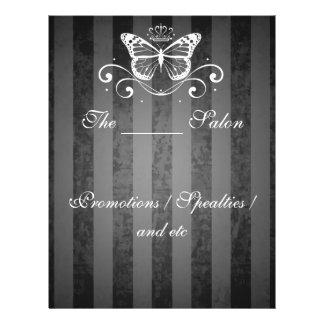 Elegant White Royal Butterfly 21.5 Cm X 28 Cm Flyer