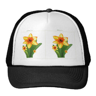 Elegant Wild Exotic Cactus Flower on Shirts  GiftS Trucker Hat