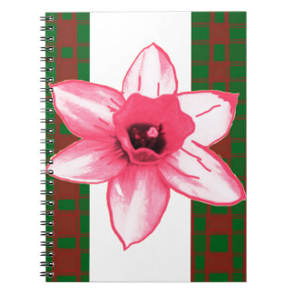 Elegant Wild Exotic Cactus Flower on Shirts  GiftS Spiral Notebook