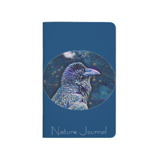 Elegant Wild Raven Nature Journal