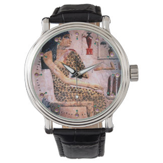 ELEGANT WOMAN ,FASHION AND BEAUTY OF ANTIQUE EGYPT WATCH